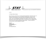 Testimonial from Stat Medical Consulting