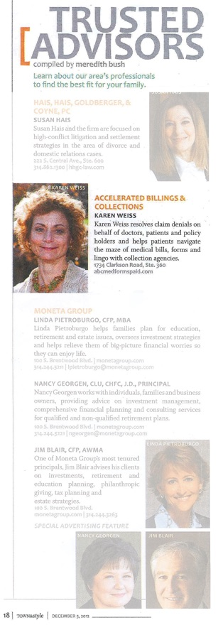 Trusted Adviser - Karen Weiss